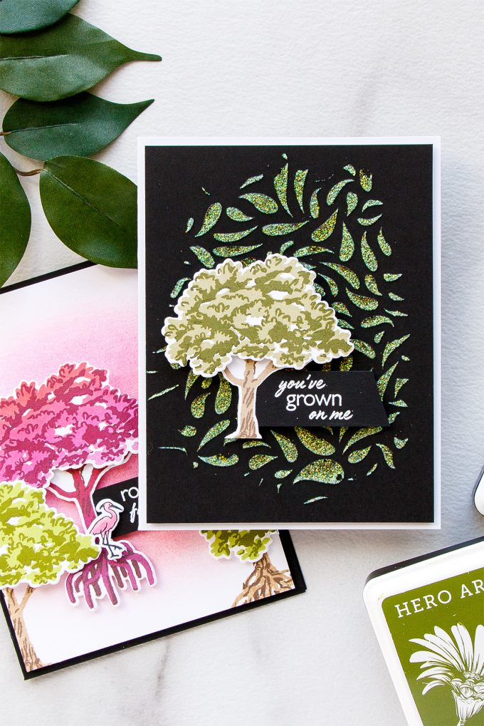 Hero Arts | Color Layering With Yana Series – Color Layering Mangrove Cards. Video