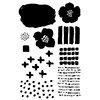 Flora and Fauna Texture Five Clear Stamp Set