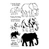Hero Arts Color Layering Elephant Stamps
