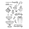 Hero Arts Clear Stamps Make a Fountain