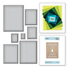Spellbinders Scored and Pierced Rectangles