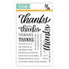 Simon Says Clear Stamps Big Thanks Words
