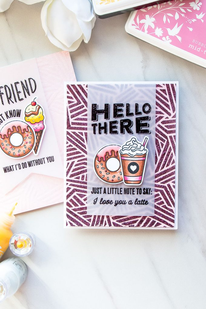 Hero Arts   Lets of Sentiments! Video. March My Monthly Hero Blog Hop + Giveaway