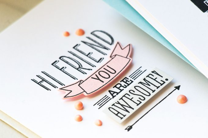 Hero Arts | Lets of Sentiments! Video. March My Monthly Hero Blog Hop + Giveaway