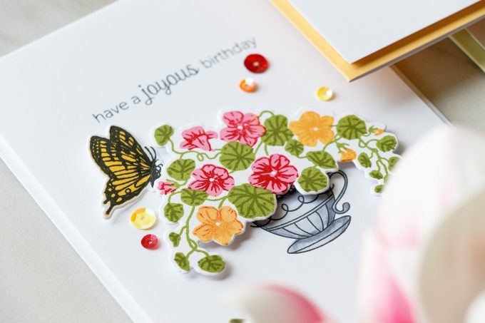 Hero Arts   Color Layering With Yana Series - Color Layering Nasturtium Cards. Video