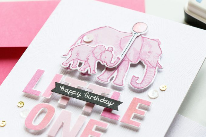 Hero Arts | Color Layering With Yana Series - Color Layering Elephant Cards. Video