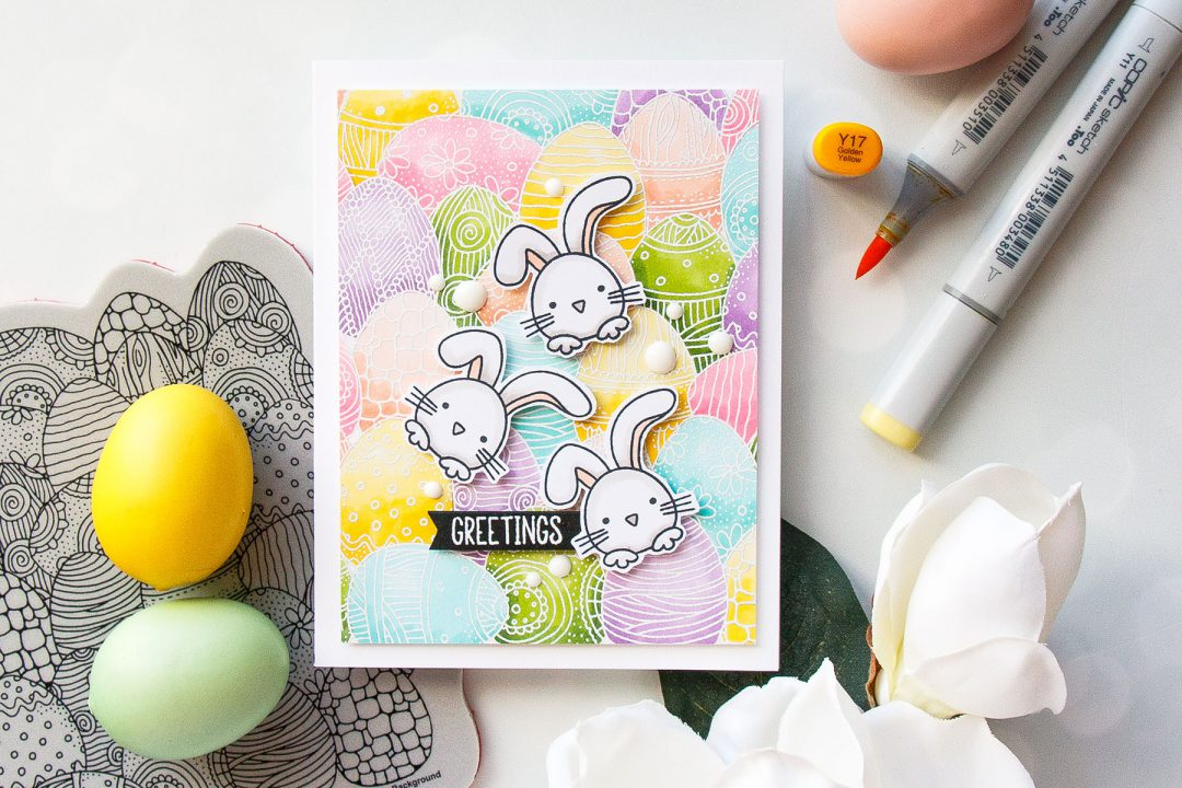 Simon Says Stamp | Easter Greetings Card