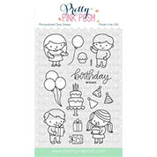 Pretty Pink Posh Birthday Friends Stamp Set