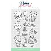 Pretty Pink Posh Birthday Friends Stamp Set