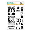 CZ Design Clear Stamps Rad Grad