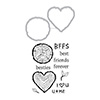 Hero Arts Besties Stamp & Cut DC237