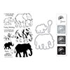 Hero Arts Color Layering Elephant Bundle