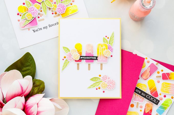 Simon Says Stamp | Ice Cream Cards. Yippee For Yana Series. Video