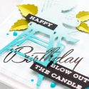 Spellbinders | Ombre Silhouette Die Cuts. Video. Blog Hop + Giveaway Mother's Day Card featuring Little Loves collection by Spellbinders