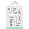 Pretty Pink Posh Happy Mail Clear Stamp Set