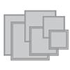 Spellbinders Hemstitch Squares Dies