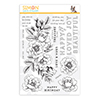 Simon Says Clear Stamps Beautiful Flowers