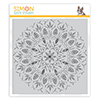 Simon Says Cling Stamp Bohemian Lace Background