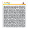 Simon Says Cling Stamp Deco Diamonds Background
