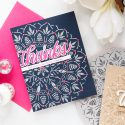 Simon Says Stamp | Bohemian Lace-Like Backgrounds. Thank You Cards by Yana Smakula #simonsaysstamp #ssssendingsunshine #cardmaking #stamping #yanasmakula