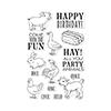 Hero Arts Hay Party Animals