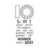 Hero Arts #1 Winner Stamp & Cut