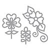 Spellbinders Dainty Florals Dies