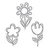 Spellbinders Sketched Blooms Dies