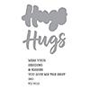 Spellbinders Hugs Expressions Stamp and Die Set