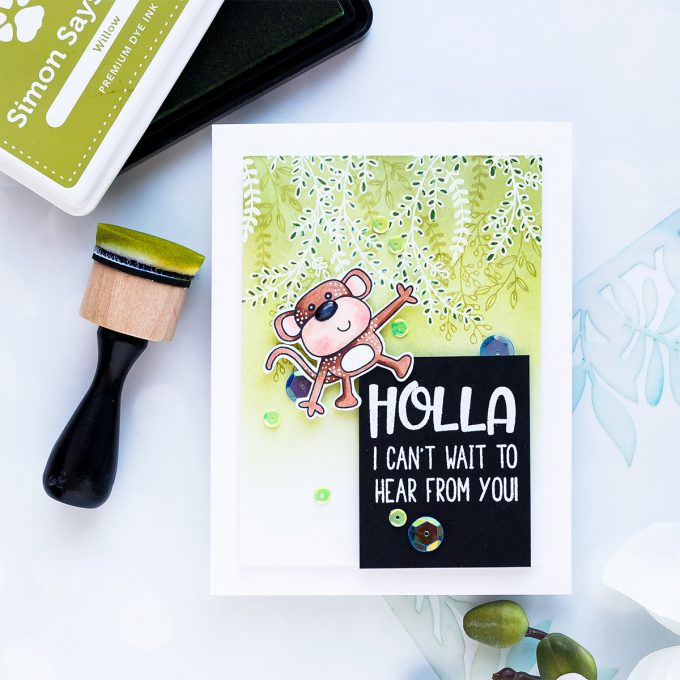 Simon Says Stamp | Holla! I Can't Wait To Hear From You!