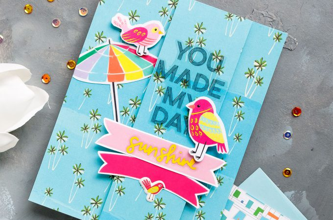 Simon Says Stamp | July 2018 Card Kit Cards #cardmaking #ssscardkit #papercrafting
