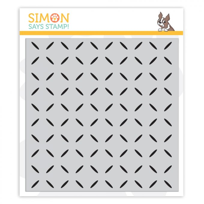 Simon Says Cling Rubber Stamp Diamond Pattern