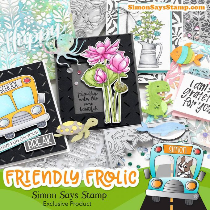 Simon Says Stamp | Friendly Frolic Release