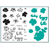 Gina K Designs Tropical Blooms Stamp and Die Set
