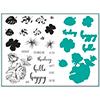 Gina K Designs Tropical Blooms Stamp and Die Set