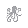 Spellbinders Happy Octopus Dies