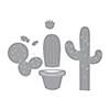 Spellbinders Potted Cacti Dies