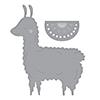 Spellbinders Happy Llama Dies