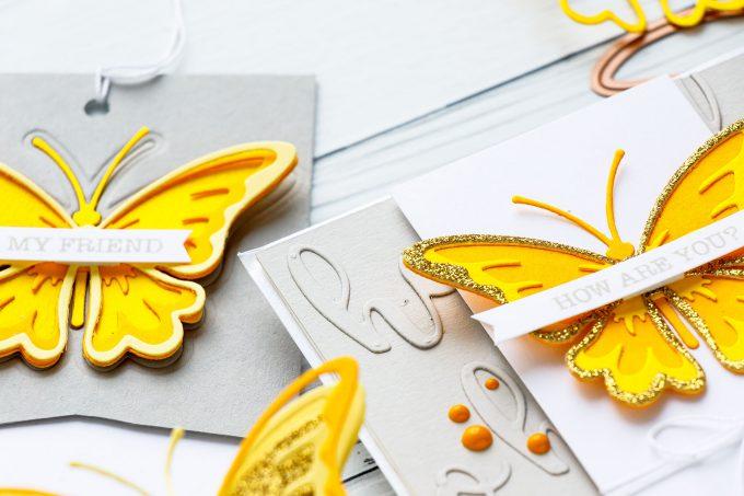 Spellbinders | Color Layering with Dies - Handmade Card featuring Exclusive Indie Line #spellbinders #diecutting #cardmaking