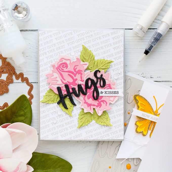 Spellbinders | Color Layering with Dies - Handmade Card featuring Exclusive Indie Line #spellbinders #diecutting #cardmaking