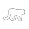 Hero Arts Dies Color Layering Mountain Lion