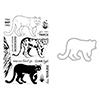 Hero Arts Layering Mountain Lion Bundle