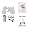 Spellbinders A Rose Any Other Name Stamp and Die Set