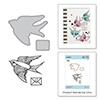 Spellbinders A Little Birdie Told Me Stamp and Die Set