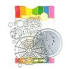 Waffle Flower Color Wheels Combo