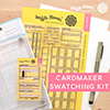 Waffle Flower Cardmaker Swatching Kit