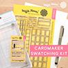 Waffle Flower Cardmaker Swatching Kit