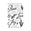 Hero Arts Peace, Love & Joy