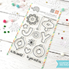 Mama Elephant Joy Ornaments Stamps