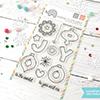 Mama Elephant Joy Ornaments Stamps